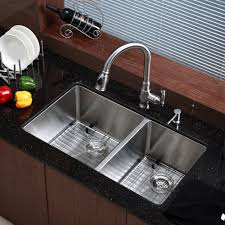 Sinks Stainless Steel Faucet Stainless Steel  X  Double - Double bowl undermount kitchen sinks