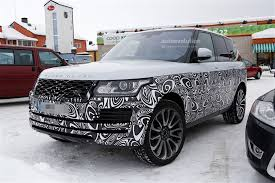 lifted range rover 2017 range rover facelift spied with small changes autoevolution