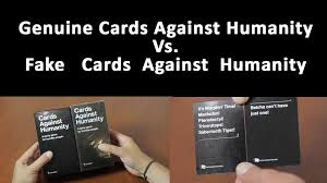 cards against humanity reject pack cards against humanity genuine vs