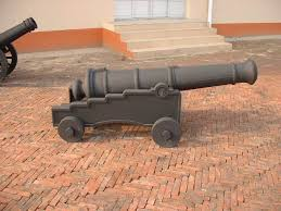 antique metal cast iron craft model cannon china supplier