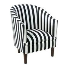 Black And White Accent Chair Most Popular Striped Armchairs And Accent Chairs For 2018 Houzz