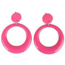 hoop clip on earrings clip on hoop earrings ebay