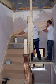 Loft Conversion Stairs Design Ideas Staircase Being Fitted In A Loft Conversion In Chesterfield Loft
