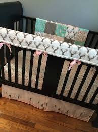 Deer Crib Bedding Custom Crib Bedding Set Made To Order Baby Woodland Set