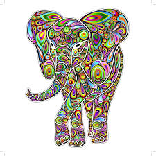 elephant mom baby wall mural decal pop art howie green blog pop art wall art elephant
