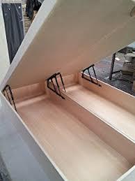 5ft kingsize ottoman storage bed base only amazon co uk kitchen