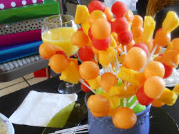 plastic skewers for fruit arrangements nibbles of tidbits a food blogextra recycled edible