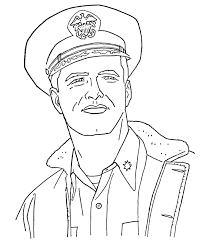 veterans day coloring pages american navy officer veteran u0027s