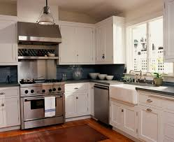 Traditional Backsplashes For Kitchens Backsplash Ideas For Kitchen Traditional With Farmhouse Sink Blue