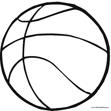 Basketball Color Page Basketball Coloring Pages Getcoloringpages Com
