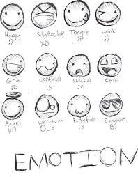 emotion faces coloring pages free printable community emotion
