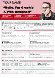 Horizontal Resume 100 Free Resume Templates Psd Word Utemplates