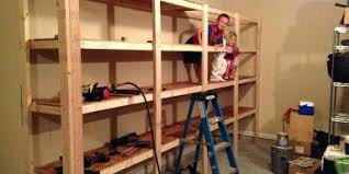 Best Wood Building Shelves by Whats The Proper Material How To Build Garage Shelvesdiy Shelves