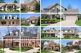 beautifulhomes a collage of 10 beautiful homes of various styles and price range