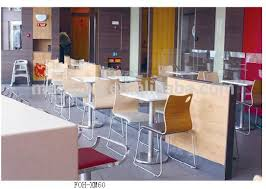 newest style modern fast food restaurant furniture table chair set