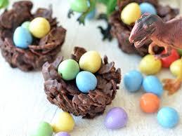 chocolate dinosaur egg the kitchen chocolate dinosaur nests