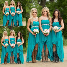 teal bridesmaid dresses 2017 country bridesmaid dresses teal turquoise chiffon