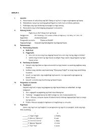 lesson plan in filipino grade 2