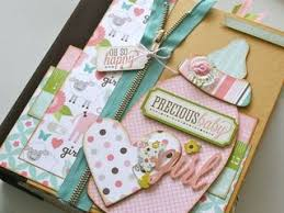 baby girl scrapbook album baby girl bundle of kit gogo girl scrapbooking