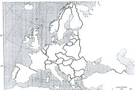 Empty Map Of Africa by Maps Blank Map Of Europe During Wwi