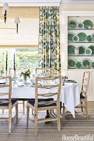 Curtains For Dining Room Windows Dining Room 1693 House Beautiful Olasky Dining Room Curtains