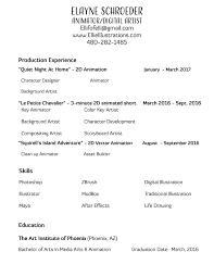 Resume Printer Resume U2014 Elayne Schroeder
