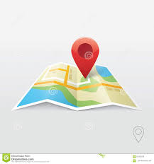 map logo map marker pointer with map vector icon design stock illustration