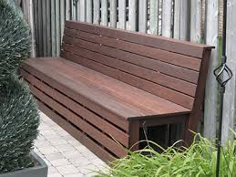Ipe Bench Ipe Deck Project Image Gallery National Decking Toronto Montreal