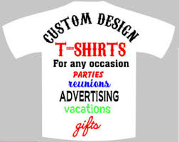 custom made t shirts etsy