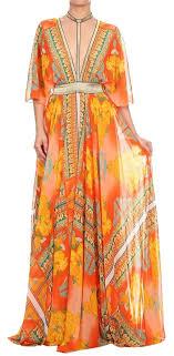 va va voom dresses va va voom orange d5907 7843 casual maxi dress size 6 s