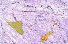 Bosnia Map Balkans Mapping