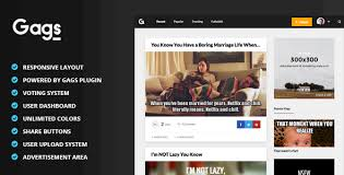 Website Meme - gags image meme video sharing wordpress theme by themewarriors