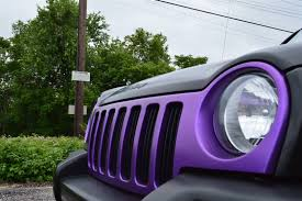 matte purple jeep 2004 jeep liberty royal customs