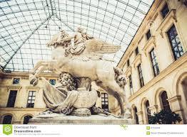 louvre museum interior editorial stock photo image 61319743