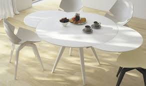 table fascinate splendid extendable round dining table ebay