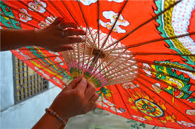How To Make Paper Umbrellas - traditional paper umbrellas shine in modern age for