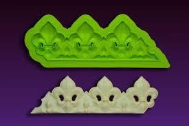 fleur de lis wedding cake fleur de lis cake border mold by marvelous molds borders and lace
