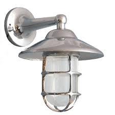 chrome exterior lighting