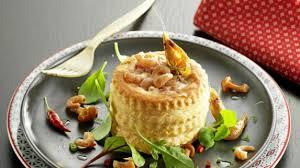cuisiner crevette recette vol au vent et ses petites crevettes grises cuisiner