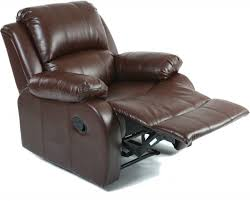 Leather Reclining Chairs Vogue Pu Leather Recliner Chair Brown Xr 8001 Br Price