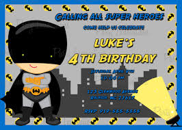Bday Invitation Cards For Kids Extraordinary Batman Birthday Invitation Cards 95 For Printable
