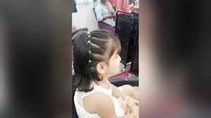 styling two year hair baby angel hair styling 2 year old baby girl youtube
