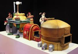 wallace gromit inspired cake weighs 20 stone 400