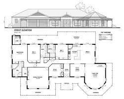 Traditional Queenslander Floor Plan Colonial Homes Queensland Colonial Building Company