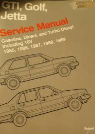volkswagen gti golf and jetta service manual 1985 1986 1987