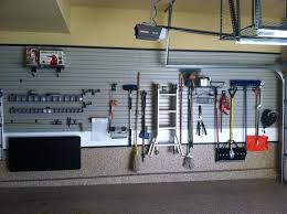 Two Car Garage Organization - garage good garage organization hanging tools with aluminium