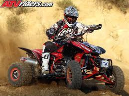 pro motocross riders nick denoble 2009 ama pro atv motocross rookie honda trx 450r atv