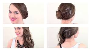 nye hair a chic way to dress up a simple style youtube