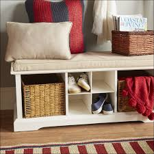 bench furniture white with shelf entryway hooks pertaining to