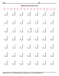 adding by 5 worksheets worksheetsdirect com
